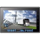 WEST ROAD WR-707D GPS DVB-T ANDROID TABLET NAVIGATOR EU ЗА КАМИОН